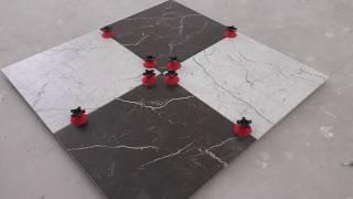 Как положить плитку на слой клея без стяжки? Аккуратно и ровно.Легкий способ