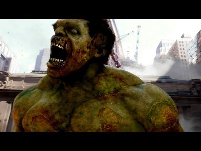 마블히어로들이 좀비바이러스에 감염된 세상