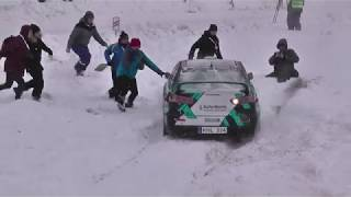 Rally Aluksne 2019 Actions, Mistakes, Max Attack