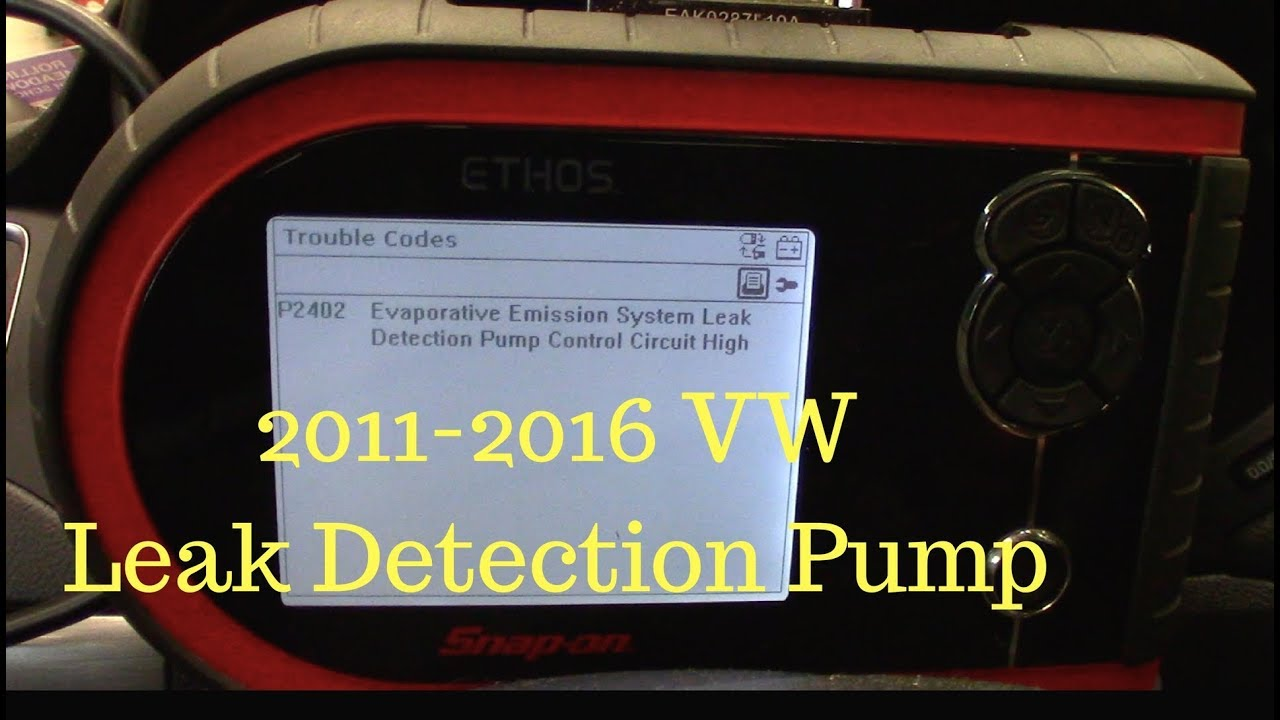 2003 Vw Passat Fuse Box Diagram 2011 2016 Jetta Leak Detection Pump Replacement P2402 Youtube