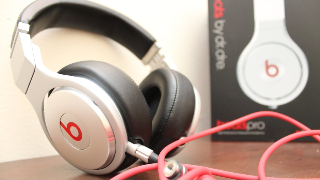 beats by dre pro unboxing youtube. Black Bedroom Furniture Sets. Home Design Ideas