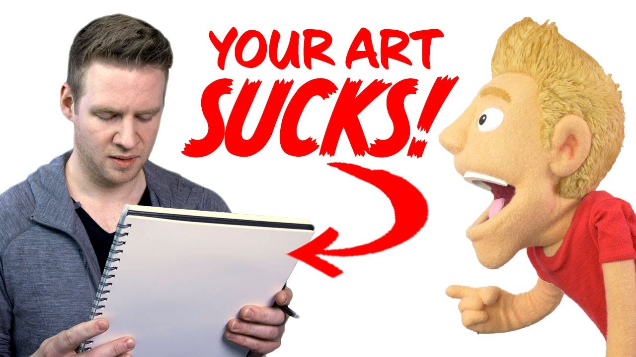 Your Art Sucks - and Here's Why...