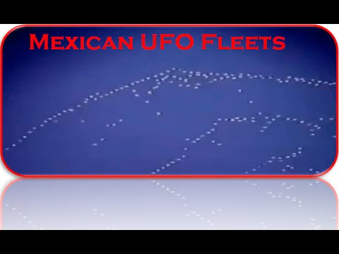 UFO Conference - Mexican UFO Fleets Jaime Maussan - Superb Footage