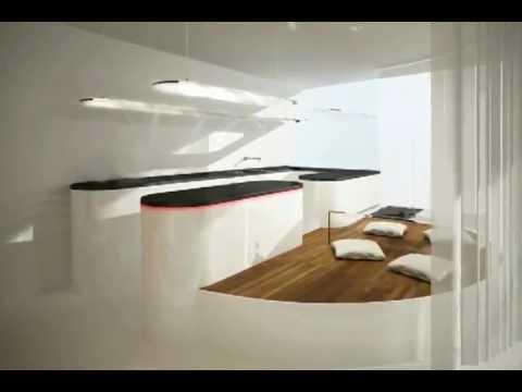 Dise o futurista imagina youtube Diseno interior futurista