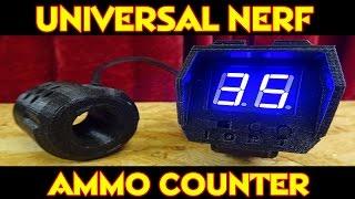 UNIVERSAL NERF DART AMMO COUNTER - Ist er seine 125 Euro wert ?