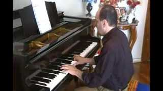missa de angelis kyrie/ musica religiosa canto gregoriano famoso/ piano solo instrumental