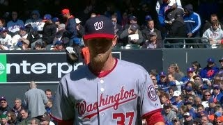 WSH@NYM: Strasburg fans 10 over six innings