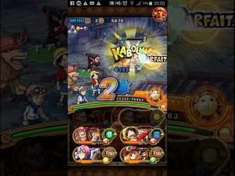 One piece treasure cruise/ Fuite! Baroque Works/ expert mode