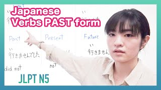 Japanese Verbs Past form | Learn Japanese Online