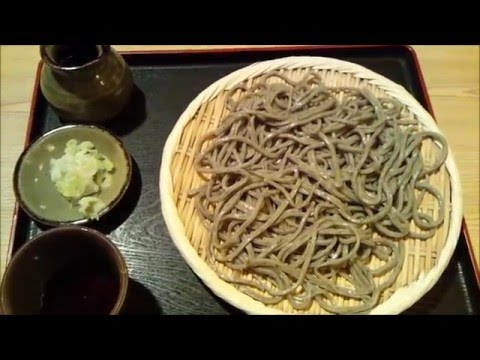 use spring water Soba there .delicous soba shop Taisou 大草 sapporo