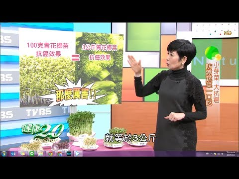 青花椰苗、苜蓿芽小芽菜抗癌效果加倍!防癌蔬菜這樣吃 健康2.0(完整版)