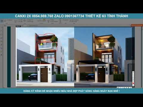 Quá ấn tượng với hình khối nhà phố 3 tầng xây dựng ở Đồng Nai do 2X thiết kế thi công