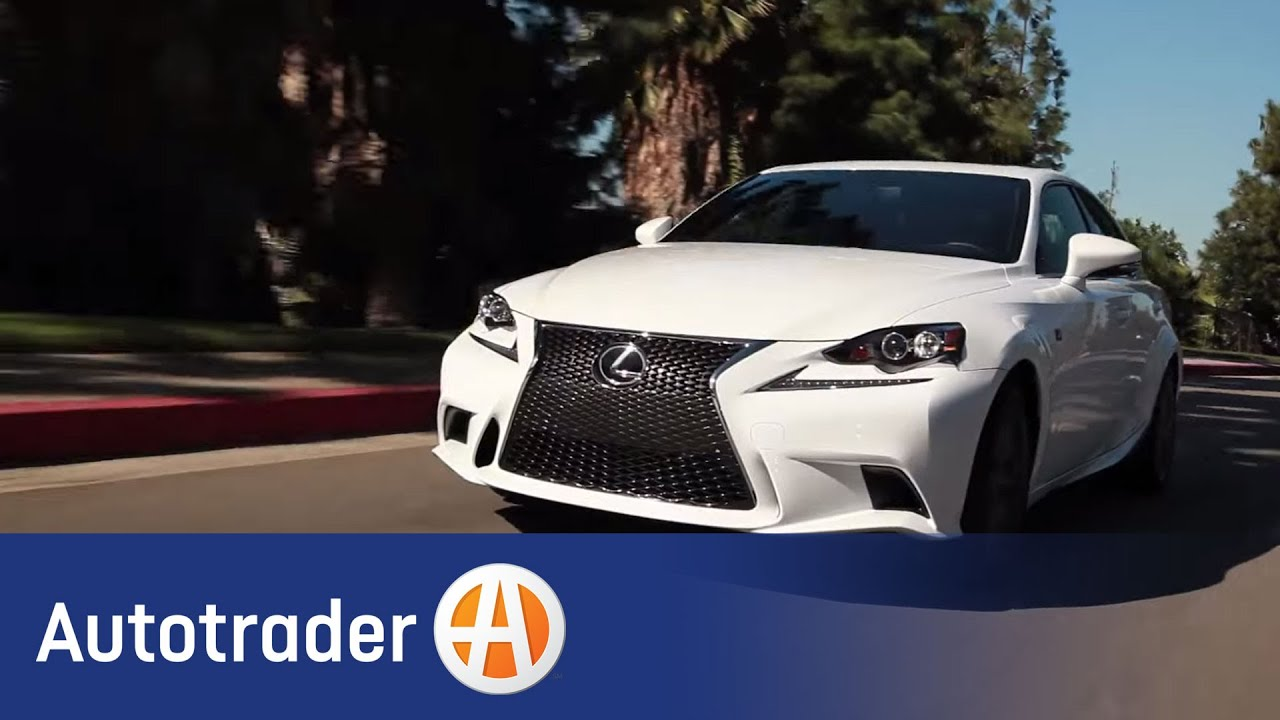 2014 Lexus IS - Luxury Sedan | 5 Reasons to Buy | Autotrader - YouTube
