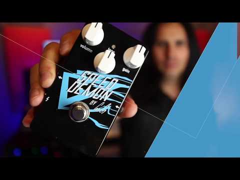 Gus G unleashes Speed Demon overdrive pedal | MusicRadar