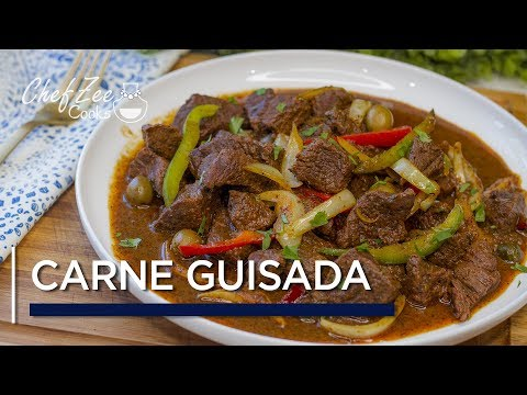 Carne de Res Guisada | Spanish Beef Stew Recipe | Chef Zee Cooks