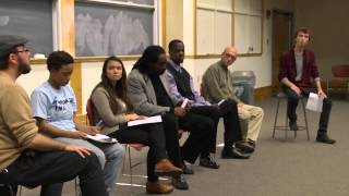 "Ursinus College panel after ""Broken On All Sides"" screening"