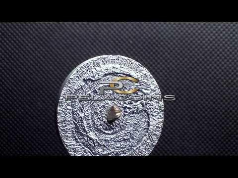 NIUE 2014 - $1 Canyon Diablo Meteorite