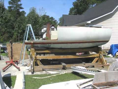 1977 C&C 24' Sailboat Demolition (Part 3)