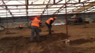 видео Производство строительных работ