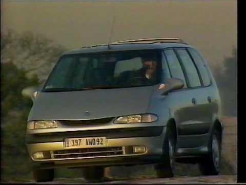 renault espace top gear. Old Top Gear 1997 - Renault Espace \u0026 Chrysler Voyager R
