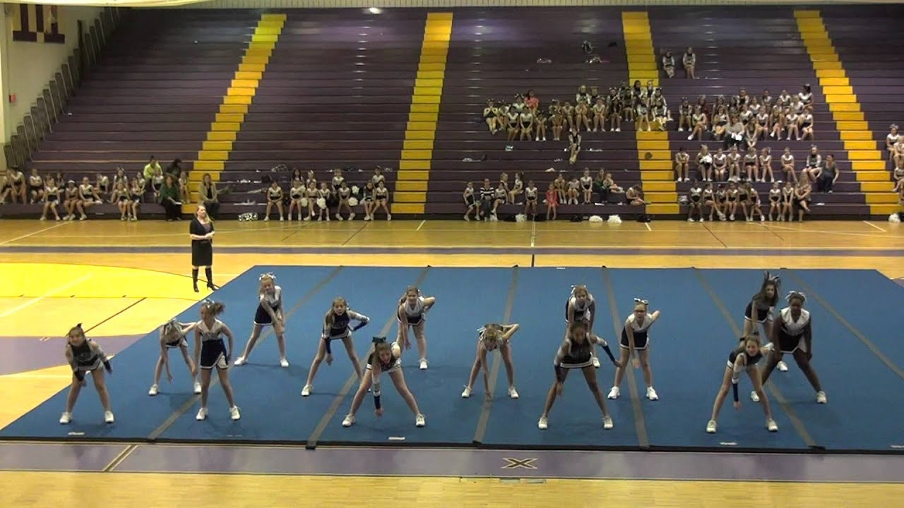 Syc cheer winter pep rally squad 9 youtube