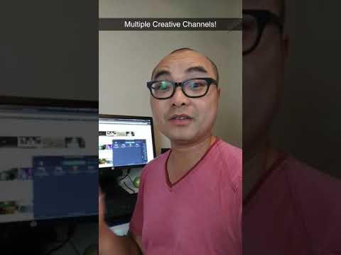 "Multiple Creative ""Channels""...#Geekoutdoors.com EP610"