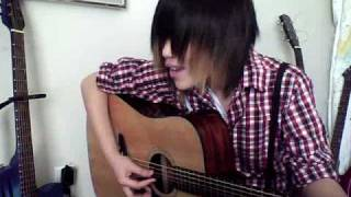 on the brightside (nevershoutnever) cover- cwtebnr