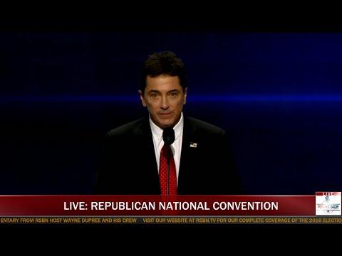 Scott Baio Speaks at Republican National Convention (7-18-16)