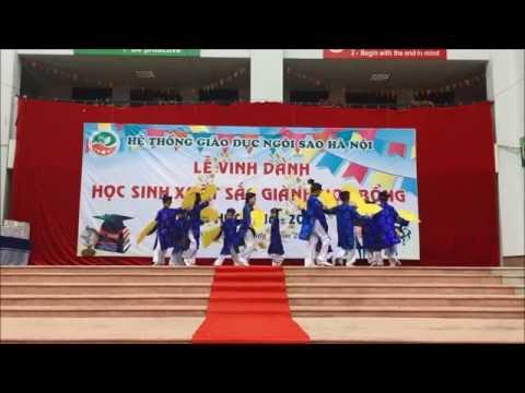 """HanoiStar - Lễ vinh danh HS giành học bổng năm học 2016 - 2017 - Tiết mục múa """"Hoài niệm Văn Miếu"""""""