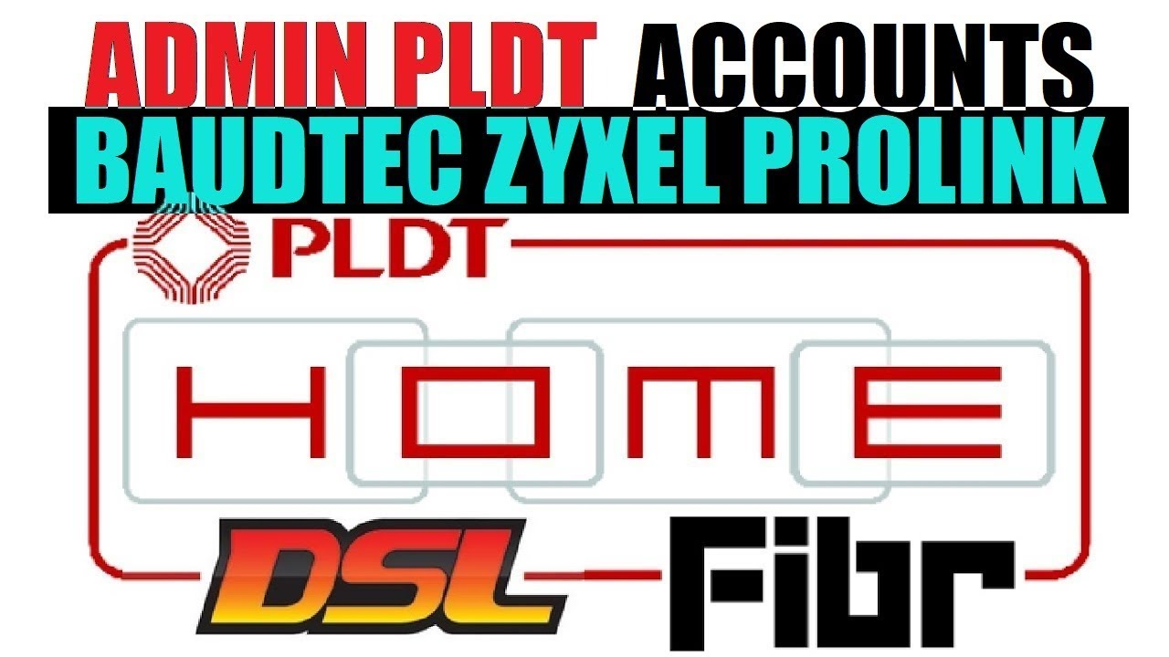 adminpldt Default Password for ONU ZYXEL BAUDTEC pldthomefibr DSL modem  routers Confirmed Working