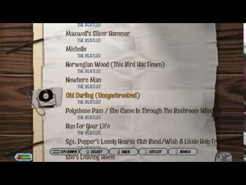 GH3 PC: The Beatles Rock Band setlist (SGH file) [inc. DLCs]