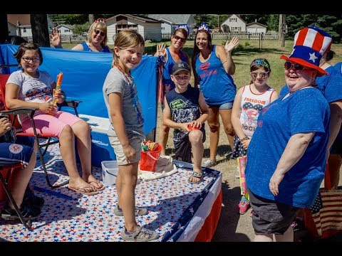 2018 Independence Day Parade, Manistique, Michigan