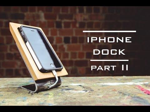 iPhone dock DIY, part II
