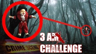 3 AM OVERNIGHT CHALLENGE IN SUICIDE FOREST TWO MAN HIDE AND SEEK WITH POSSESSED KILLER CLOWN DOLL