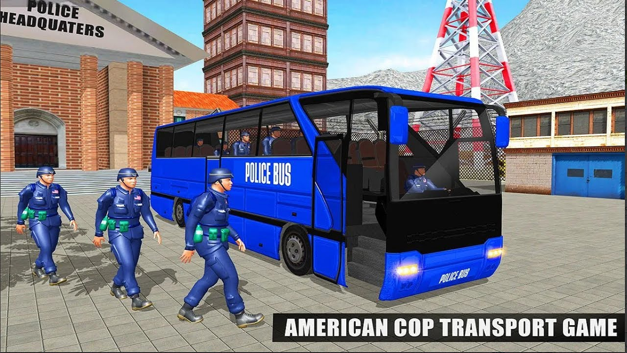 Police Bus Driving Simulator - Offroad Transport Duty - Android Gameplay