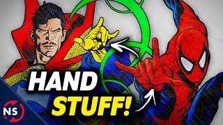 Why Do Spider-Man & Doctor Strange Make the Same Hand Gesture?