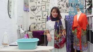 How to wash your silk scarf at home