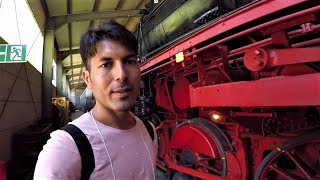 Kamran at the Cam : Railway Museum Bochum Germany 2018 (Language is Paschtu ( Urdu? ) / English ) thumbnail