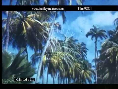 Barbados 1939.  Archive film 92801