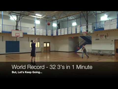 Leah Church - World Record - 32 3s in 1 Minute
