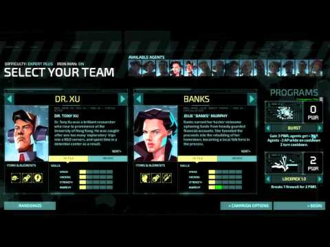 Invisible Inc Campaign 1-1 (Contingency Plan)