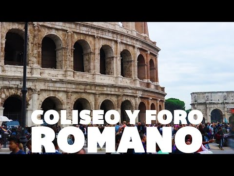 la historia debe continuar, Coliseo y Foro Romano / ROMA - Eurotrip #6 - GoCarlos