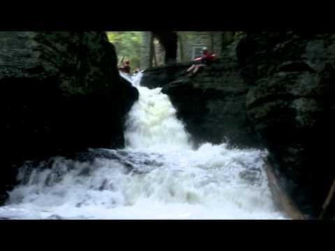 Adams Creek - The Sickest Creek in the Delaware Water Gap (HD)