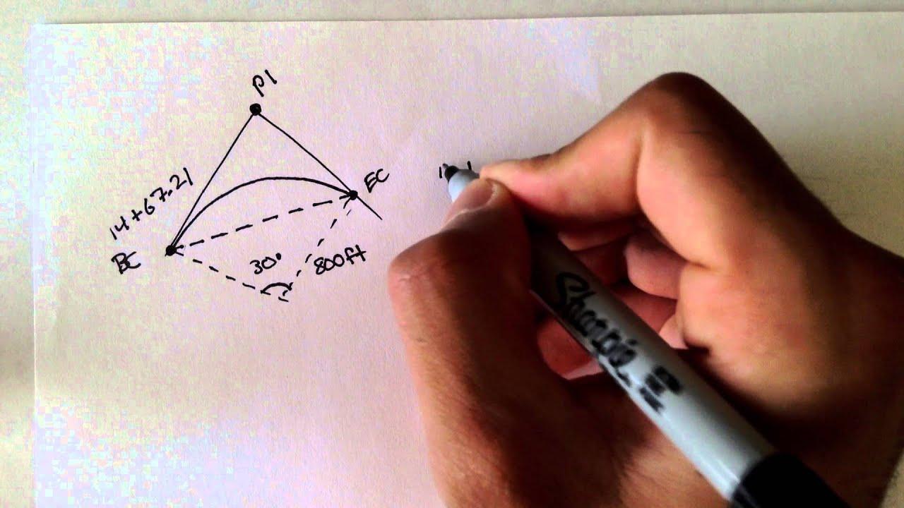Download Advanced Geomatics: Horizontal Curves: Example 1