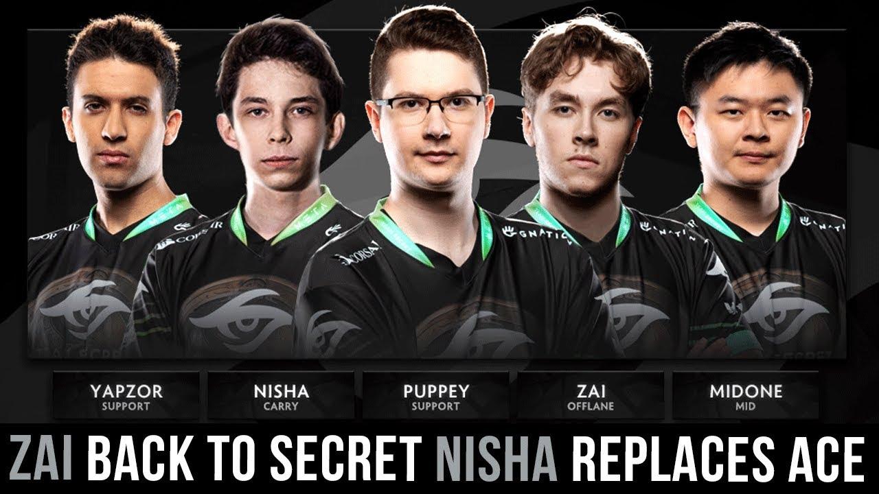 Dota 2 Team Secret