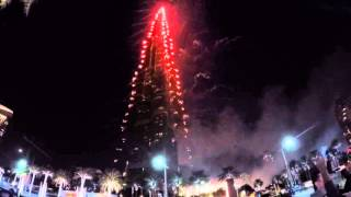 New Years Eve Dubai Burj Khalifa - Dubai 2015/2016 Fireworks (Downtown Dubai)