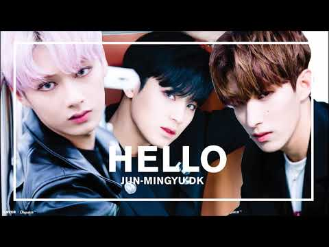[Vocal Reduced] SEVENTEEN (Jun,Mingyu,DK) - HELLO