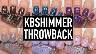KBShimmer - Throwback Collection | Swatch and Review
