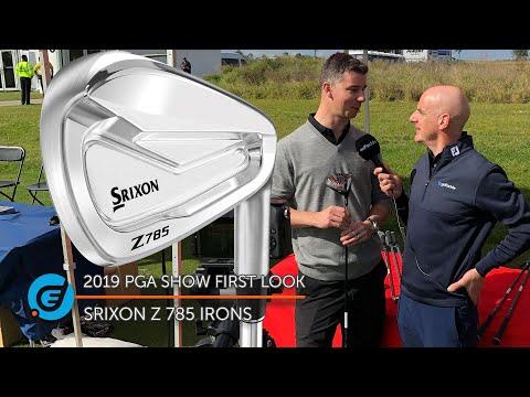 SRIXON Z 785 IRONS
