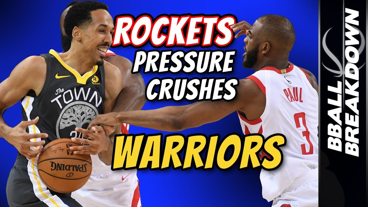 d8b0c7ad70a ROCKETS Pressure Crushes Warriors In Game 4 - YouTube